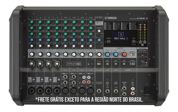 Power Mixer Analógico Yamaha Emx7 Emx 7