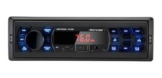 Radio Automotivo Vibe Multilaser Bluetooth Aparelho Carro
