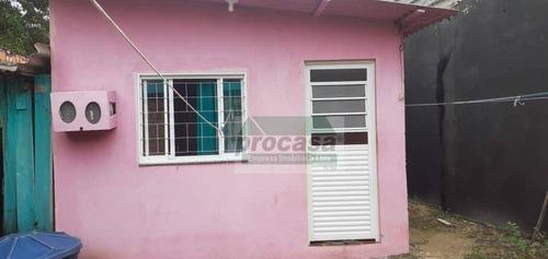 Imagem 1 de 11 de Casa Com 2 Dormitórios À Venda, 150 M² Por R$ 160.000 - Novo Aleixo - Manaus/am - Ca4222