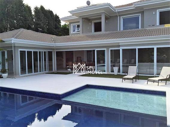 Casa Com 6 Dormitórios Para Alugar, 600 M² Por R$ 4.650,00/dia - Fazenda Vila Real De Itu - Itu/sp - Ca0643