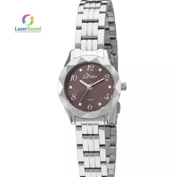 Relógio Condor Feminino Co2035kpc/3g, C/ Garantia E Nf