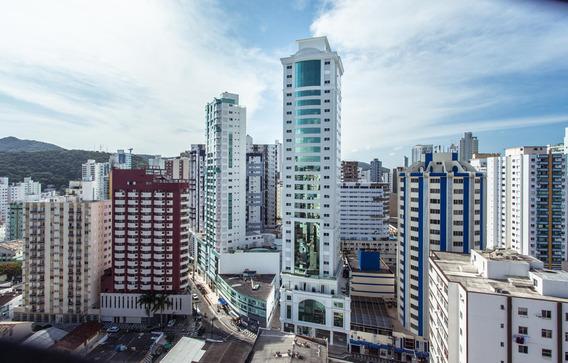 Apartamento Com 3 Quartos Para Comprar No Centro Em Balneário Camboriú/sc - 1897