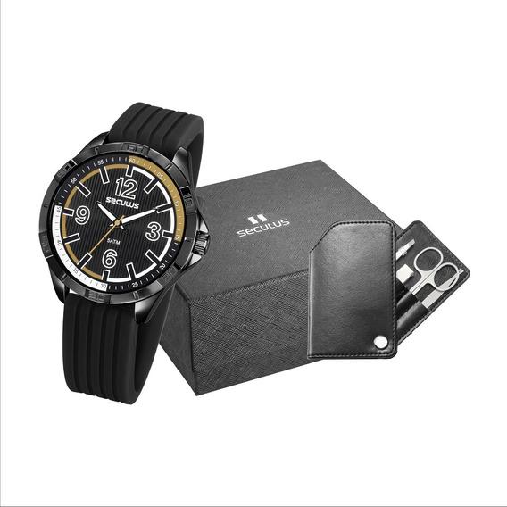 Relógio Seculus Masculino 23661gpsvpi1k1 C/ Utensílios Masc