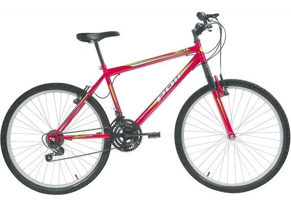 Bicicleta Polimet Delta Mtb Aro 26 V-brake 18v