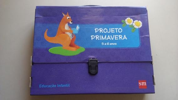Livro Projeto Primavera 5 A 6 Anos Educação Infantil Sm