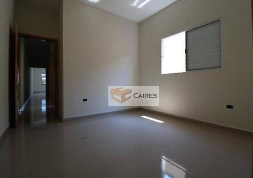 Casa Com 3 Dormitórios À Venda, 80 M² Por R$ 245.000,00 - Jardim Basilicata - Sumaré/sp - Ca3119