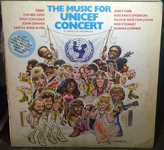 Vinilo The Music For Unicef Concert - 1979 Abba, Bee Gees