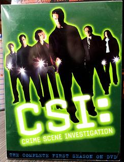 Csi: The Complete First Season (temporada 1) 6 Dvds (2003)
