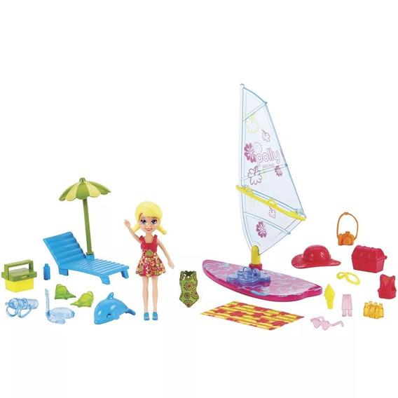 Polly Pocket - Windsurfe - Passeio Aquático - Lacrada _ _