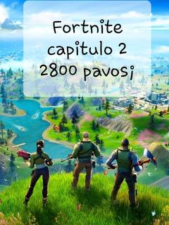 Fortnite 2800 Pavos Pc/xbox/ps4/nintendo Instante Las 24hs