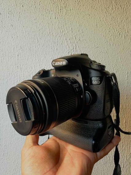 Canon 60d Com Grip Original E 18-55 Is