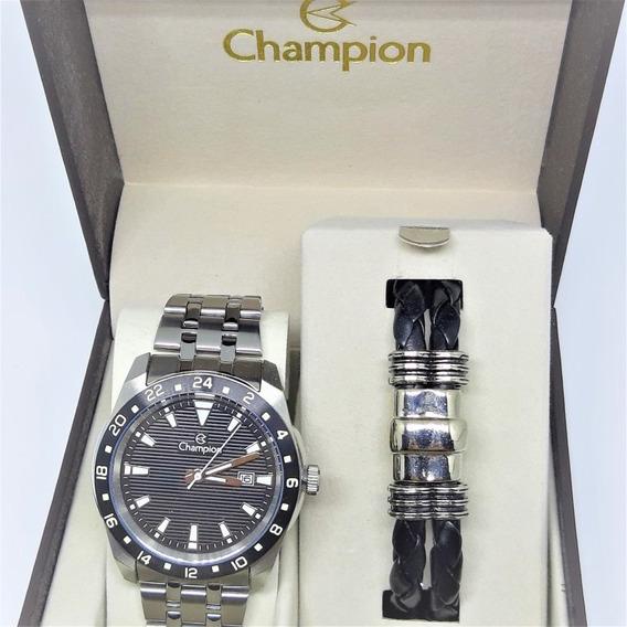 Relógio Kit Champion Ca31471x C/ Nf-e