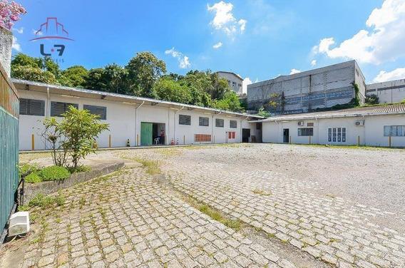 Barracão À Venda, 1550 M² Por R$ 3.900.000 - Parolin - Curitiba/pr - Ba0006