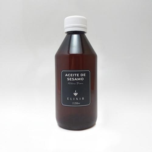 Imagen 1 de 3 de Aceite De Sesamo 250ml Elixir Materia Prima Caba