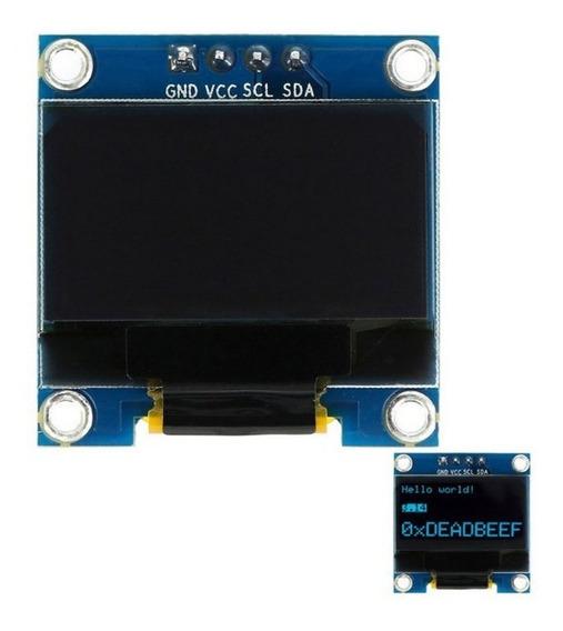 Display Oled 1.3 Azul 128x64 I2c Sh1106 Arduino Nubbeo