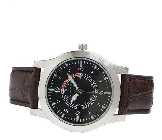 Reloj Aeropostale Para Hombre Estilo 5278 C/estuche