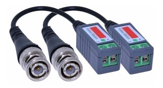 Balun Bnc Cable Utp Hd-cvi Hd-tvi Ahd Rj45 Por Par Ideal Camaras Seguridad Hikvision Dahua M3k