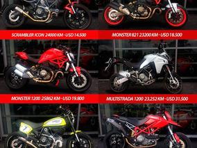 Ducati Monster 2016 Full Accesorios Usada Ducati Pilar.