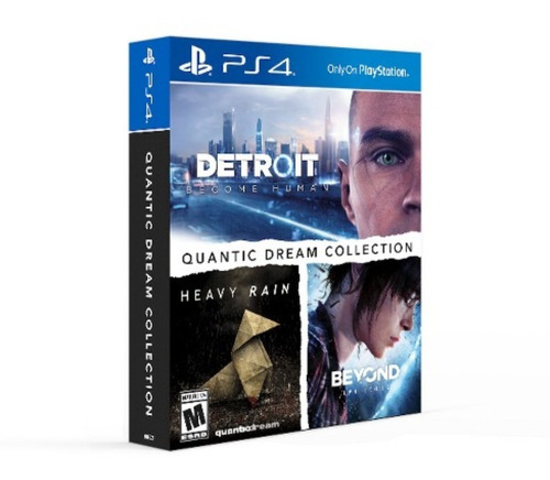 Imagen 1 de 1 de Detroit Become Human + Heavy Rain + Beyond Two Souls Ps4