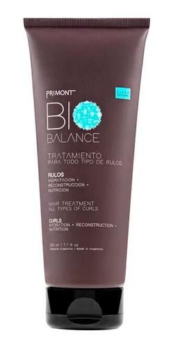 Tratamiento Para Rulos Rizos Bio Balance - Primont