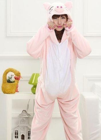c277ec9bf0edf3 Pijamas Kigurumi De Animais Imperdível Macacão