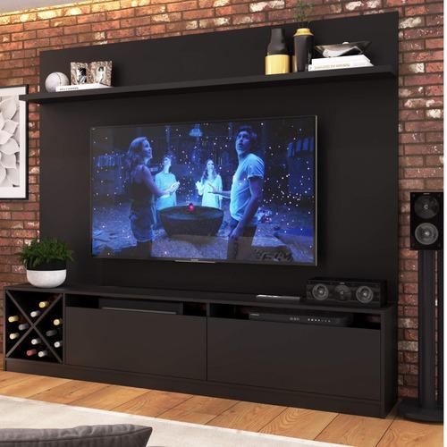 Imagem 1 de 5 de Estante Home Para Tv Até 50 Polegadas 2 Portas Adega Hi