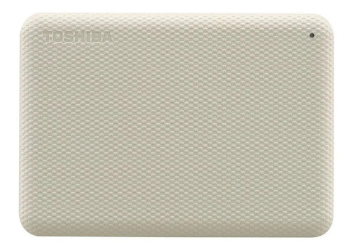 Disco duro externo Toshiba Canvio Advance HDTCA20X 2TB blanco