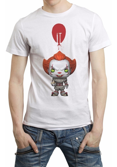It Funko Pop Pennywise Playera Payaso Eso Stephen King Libro
