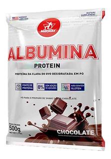 Albumina Proteína Da Clara Do Ovo 500g - Midway