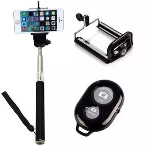 Monopod Pau De Selfie Com Controle Bluetooth - Jq