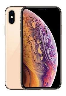 iPhone Xs Max 64gb 4g Gold Novo + Brindes