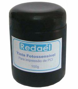Tinta Fotossensível P/ Corrosão Placa Pci Pcb Fenolite Fibra