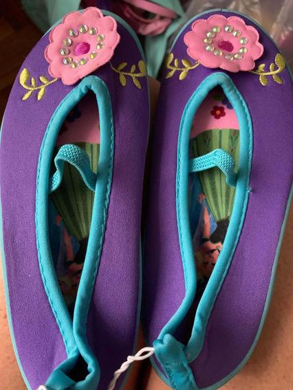 Zapatos De Agua De Frozen 2020 Disney Store Talle 27-28
