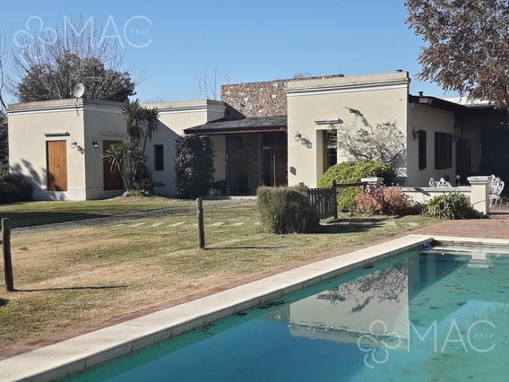 Santa Catalina Club De Campo 5 Amb. Casa De Huesped. Pileta (202200401)