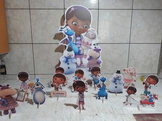 Dra Brinquedos Kit 12 Display De 15 A 20 Cm+ 1 De 60 Cm