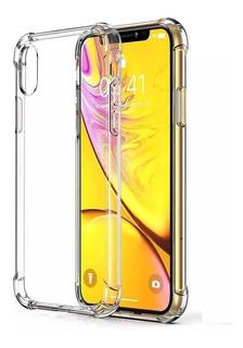 Capa Antishock + Pel P/ iPhone 7 8 7/8 Plus Xs Xr Xs Plus