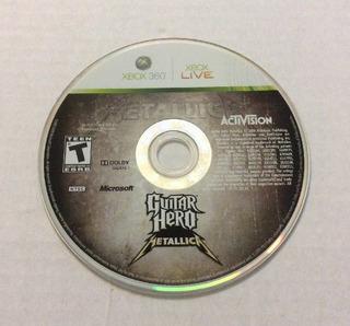 Guitar Hero Metallica Usado Para Xbox 360 Blakhelmet C