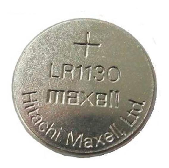 1 Cartela C/ 10 Bateria Original Maxell Lr1130 1.5v