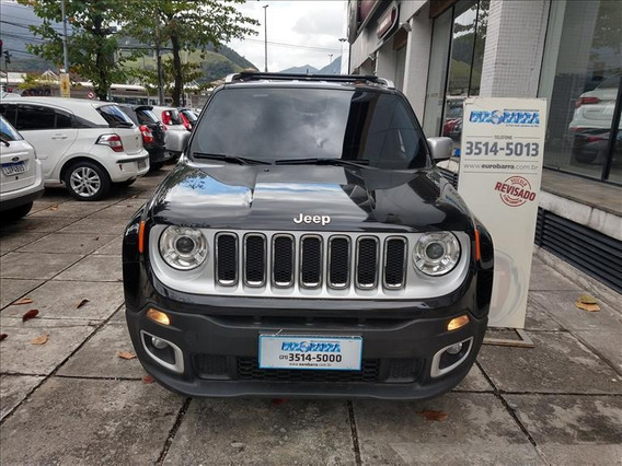 Jeep Renegade Renagade Limited 1.8 (aut) (flex)