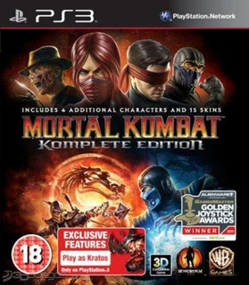 Mortal Kombat 9 Full Season Pass Ps3 Digital