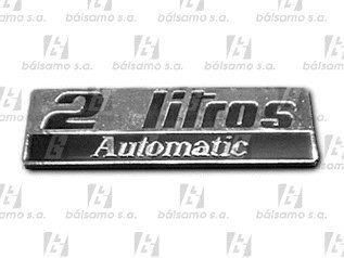 Imagen 1 de 1 de Emblema - 2 Litros Automatic - R-18 - I18053