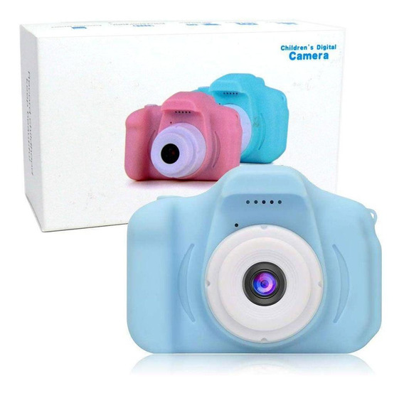Câmera Digital Infantil 2.0 Lcd Hd 1080p À Prova De Choque