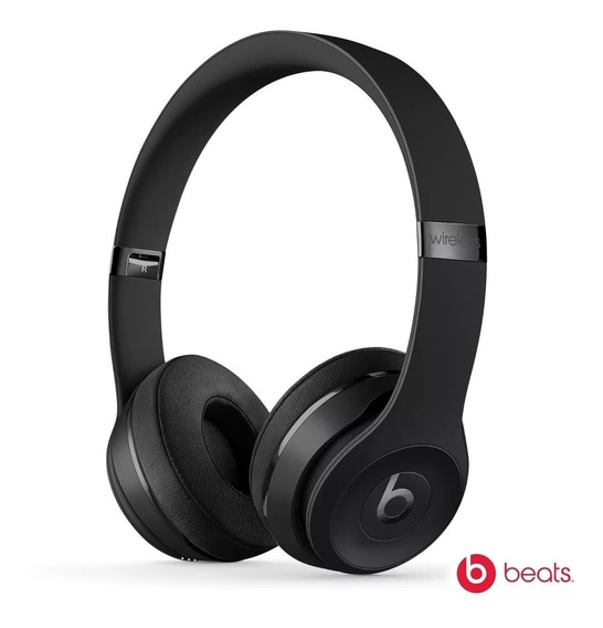 Fone Beats Solo3 Wireless On-ear Headphones Preto Brilhante