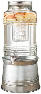 Cenicero Brisa 24 Gal Dispensador De Bebidas Con Base