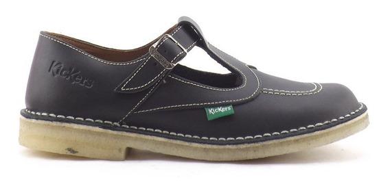 Zapatos Kickers Fray Mocho Clasicos Kali Nena Colegial 34-40