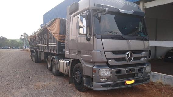 Mb Actros 2546 Ano 2011 Trucado 6x2 Teto Alto - 2011