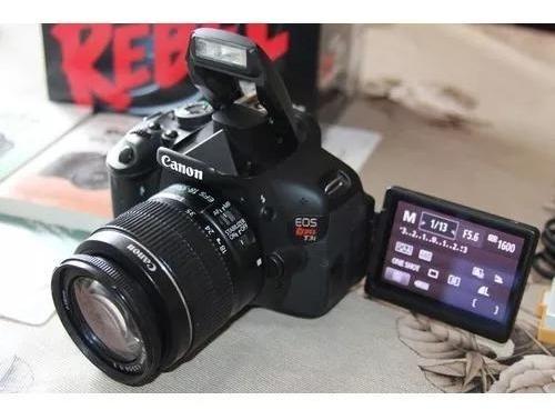 Câmera Canon T3i + 2 Baterias + Cartão De Memória