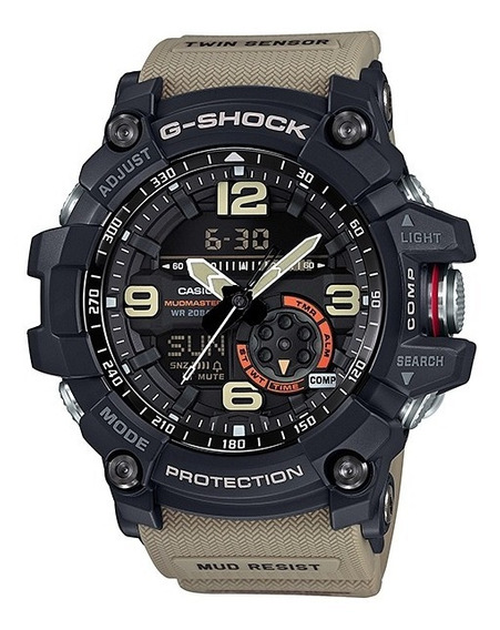 Relógio Casio G Shock Gg 1000-1a5 Caqui Original Peso 94g