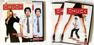 Chuck 1 E 2 Temporadas Completas - Original