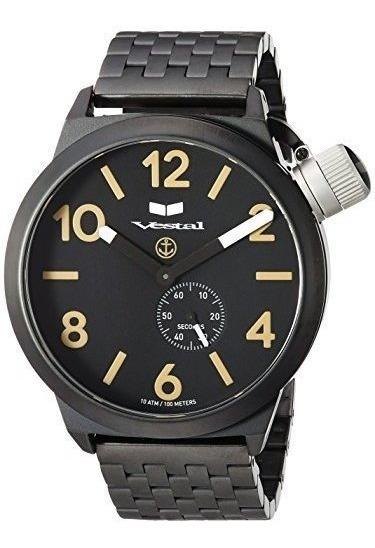 Relojes De Pulsera Para Hombre Relojes Cnt453m06.7bkm Vestal